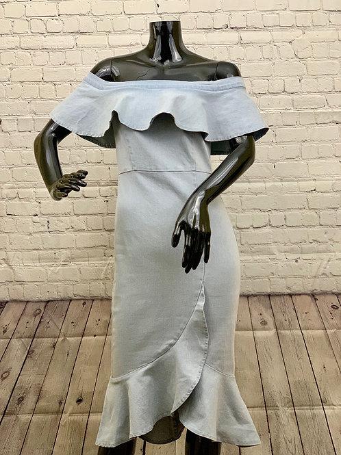 Spring Denim Dress
