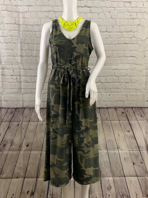 Camouflage Romper (with belt)