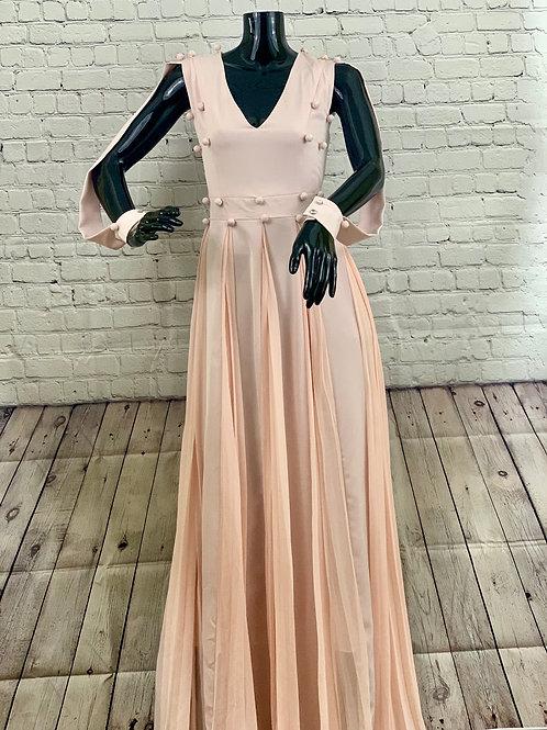 Lack of Sleeve Dress