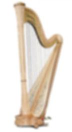 Profesionl Concert Harps