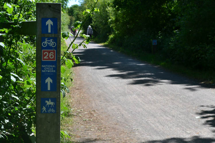 Sustrans cycle network