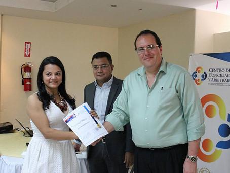 Clausura del Curso de certificación de Árbitros II promoción en Tegucigalpa. #ConfiaentuColegio