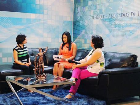 """Sintoníza el Programa Institucional """" La Voz del Colegio de Abogados"""" por medio de Televis"""