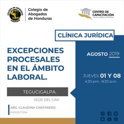 Tegucigalpa 01 y 08 Agosto-01