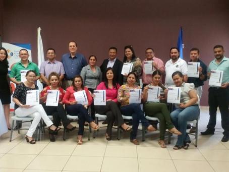 En el Capítulo de Catacamas celebró la Clausura del Curso de Certificación de Árbitros. #ConfiaentuC