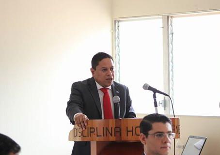 Presidente del Colegio de Abogados de Honduras y el ministro Leonel ayala inaguraron el Diplomado en