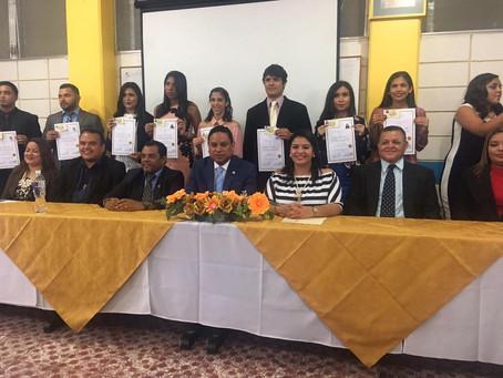 Presidente del Colegio de Abogados de Honduras juramento Nuevos Procuradores de la Universidad Catól
