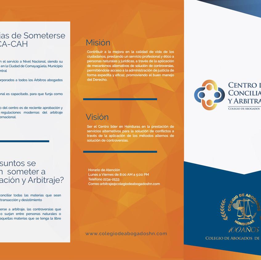 Trifolio Conciliacion y Arbitraje CAG A (1)