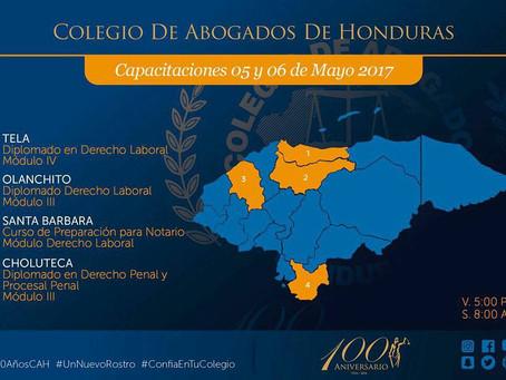 Capacitaciones viernes 05 y sábado 06 de mayo #CapacitacionesCAH #ConfiaentuColegio