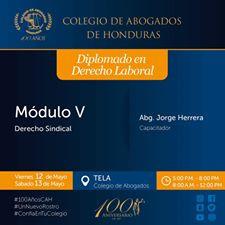 Capacitaciones Viernes 12 y Sábado 13 de Mayo en los Capítulos de Tela, Choluteca, Olanchito y Comay