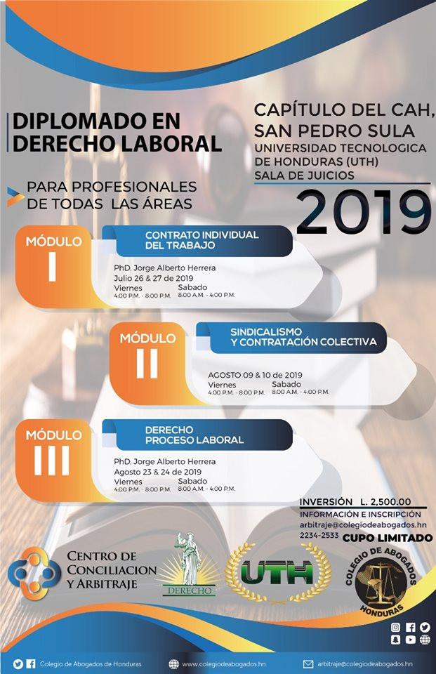 Calendario Fiscal 2019 Honduras.Cah En Cooperacion Con La Universidad Tecnologica De