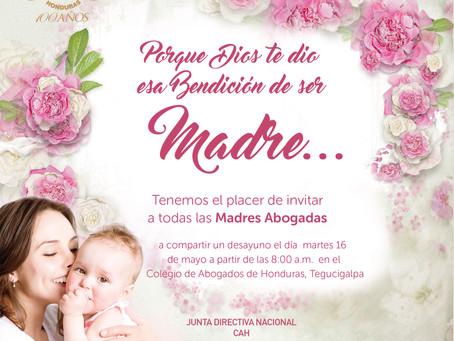 Queridas Agremiadas que Dios les ha dado la bendición de ser Madre Tú colegio te invita a celebrar e