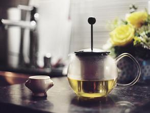 Eine Tasse Tee, bitte!