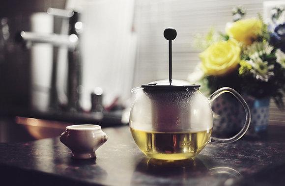 Hot Mint Tea