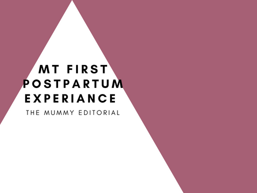 My First Postpartum Experience