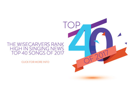 The Wisecarvers rank in Singing News Top 40 of 2017!