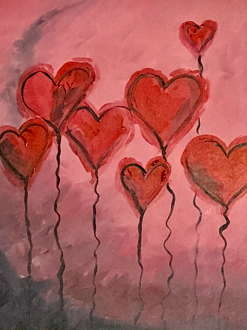V-Day Paint Party (For 1)