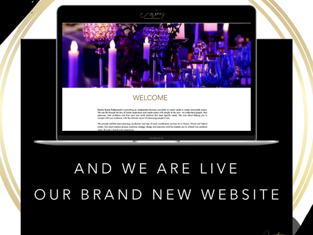 We are pleased to announce the launch of our brand new website! Destinyeventsprofessional.com