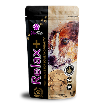 Paw-Treats Relax+ Dog CBD Treats