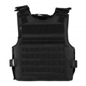 VISM® by NcSTAR® PLATE CARRIER WITH EXTERNAL HARD PLATE POCKETS [2XL+] - BLACK
