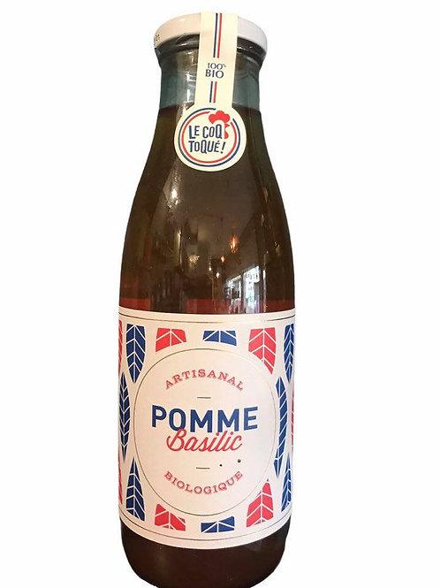 Jus de Pomme-Basilic - Le Coq Toqué