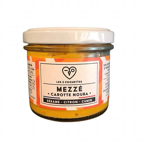 Mezzé Carotte Nouba - Les 3 Chouettes