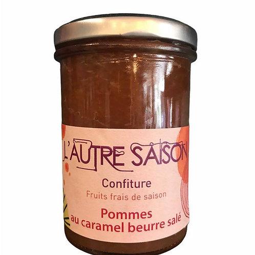 Confiture Pommes au caramel beurre salé