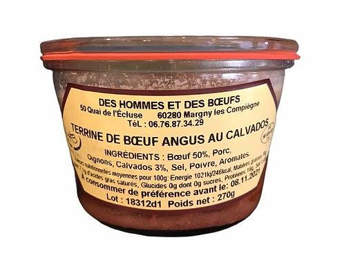 Terrine de Boeuf Angus au Calvados - Des Hommes et des Boeufs