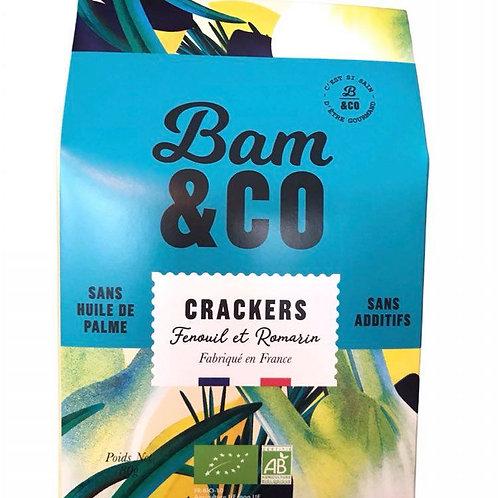 Crackers Fenouil et Romarin - Bam&Co