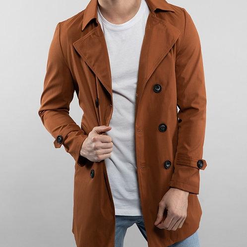 Manteau trench avec ceinture