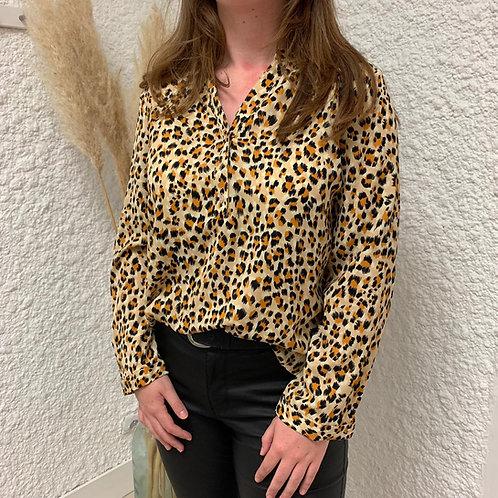 CoBlouse fluide léopard