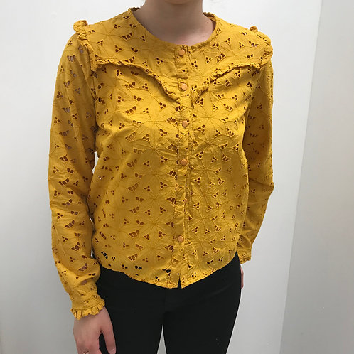BLOUSE MOUTARDE
