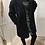 Thumbnail: Manteau moumoute noir