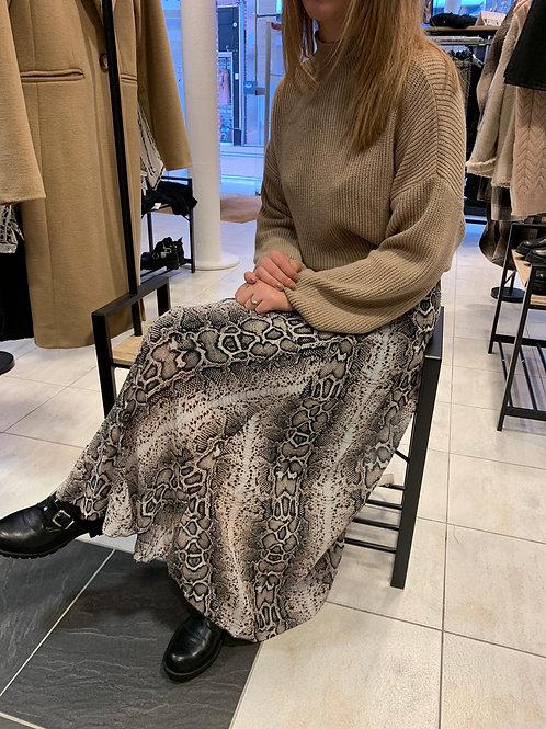 Jupe longue léopard