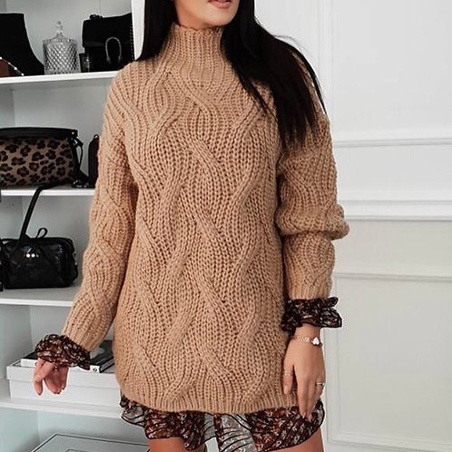 Pull tunique / robe pull