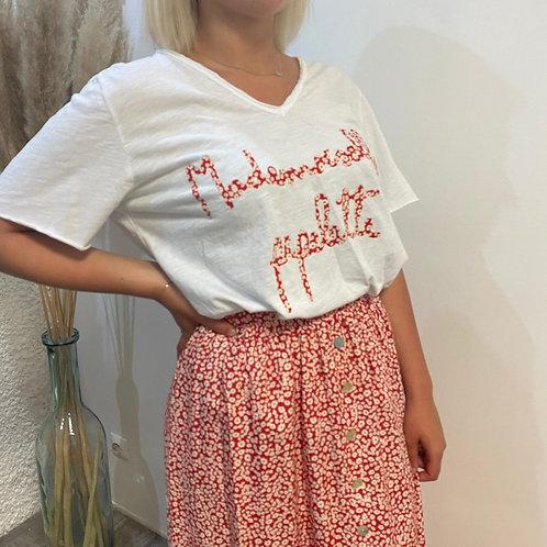 T-shirt mademoiselle pipelette