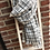 Thumbnail: Écharpe rayures fond blanc