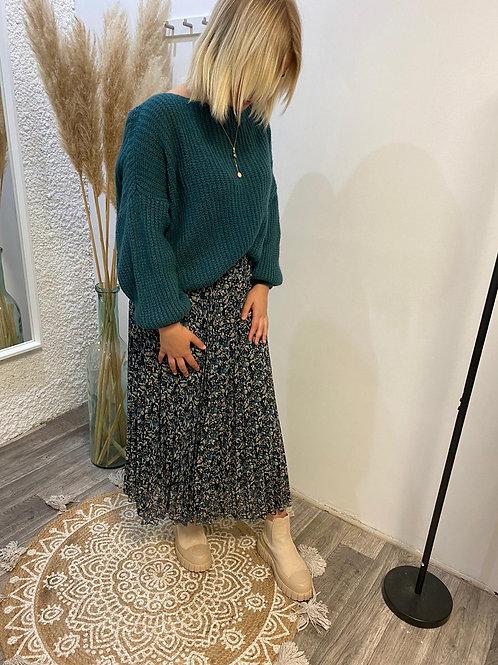 Jupe longue plissée ROMI