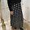 Thumbnail: Longue jupe noire & blanche