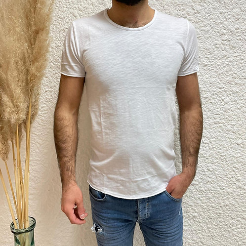 Tshirt uni blanc SIMPLO