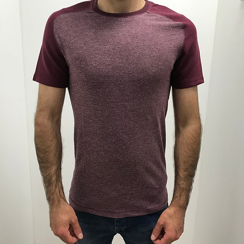 TEE-SHIRT BORDEAUX
