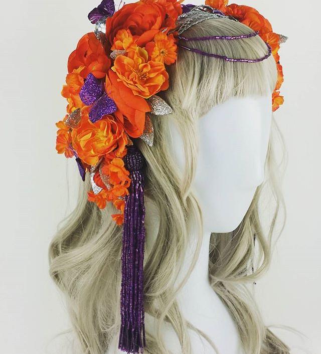 Tribal Floral Headress