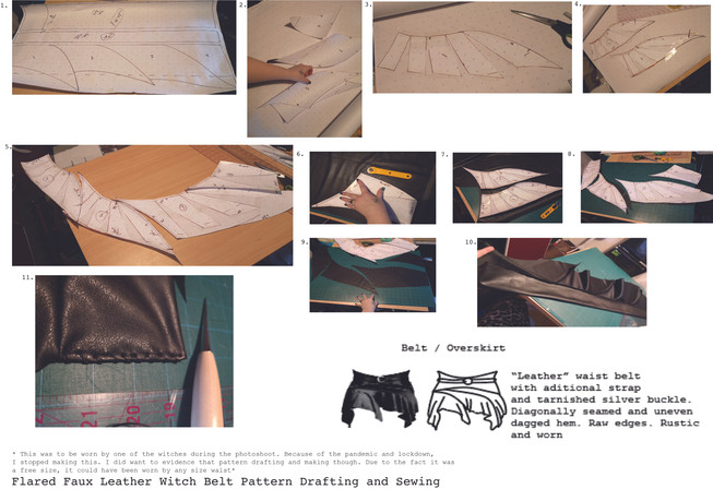 Belt Overskirt that Was Never Used