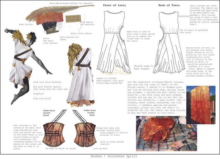 Hermes Costume Flats - Dido