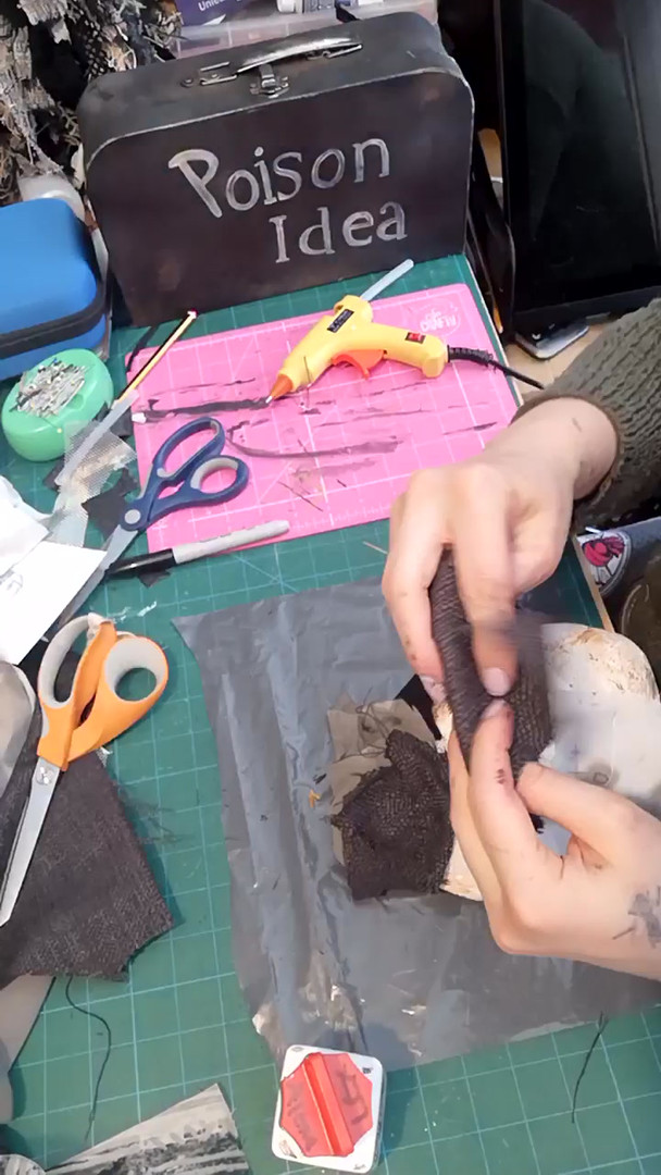Making the Witch's Mask - Part 1