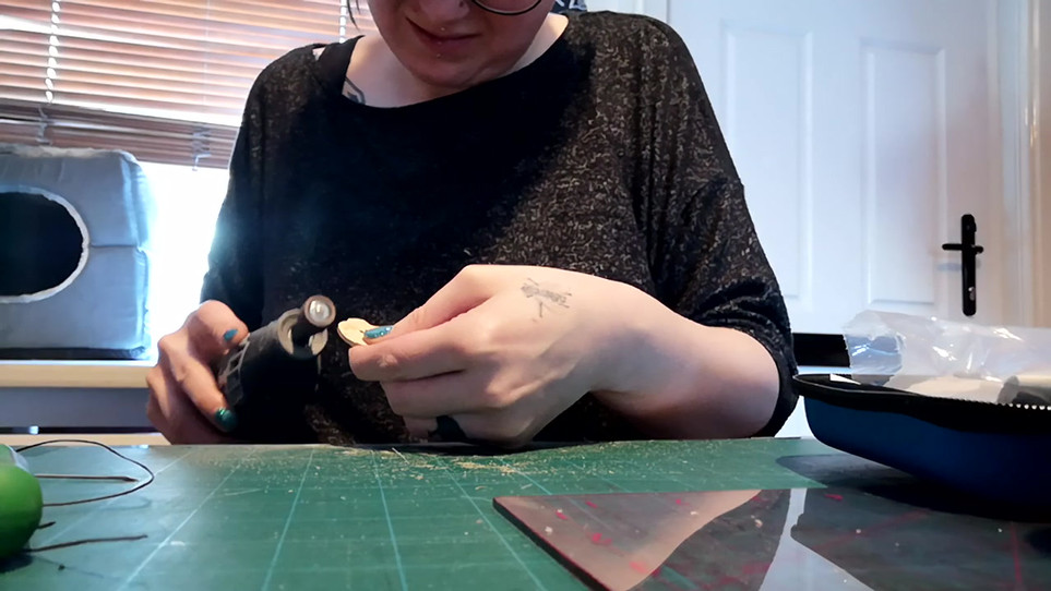 Making the Witches Button - Part 1