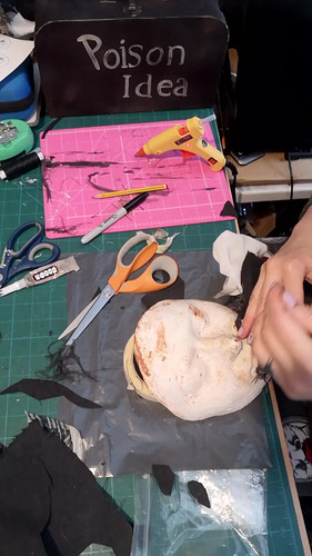 Making the Witch's Mask - Part 3