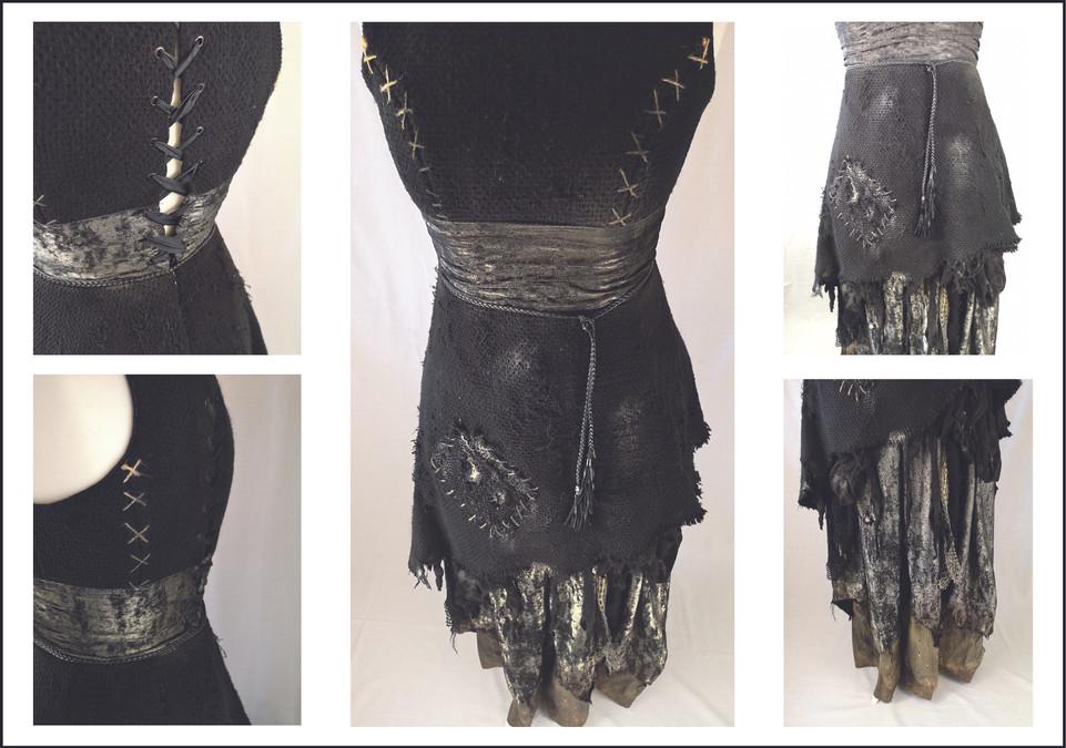 Sorceress Costume Details