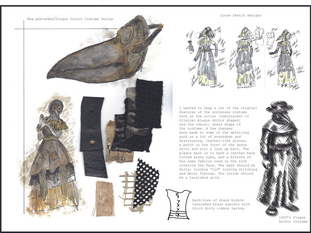 Plague Doctor Costume Designs