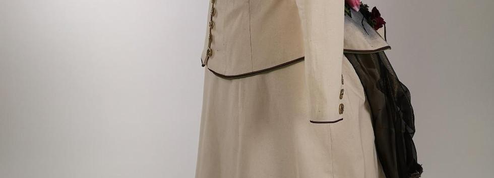 Smog vs Nature 1880s Calico Dress